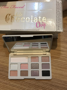 Dropshipping In stock!!New Chocolate Chip Eye Shadow 11 colors Makeup Professional eyeshadow Palette White and Matte Makeup eyeshadow