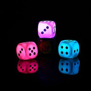 Wholesale Color Creative LED Bulbs Dice LED Night Light Decorative Lights Night Light Gift for Children Night Funny Dice ZJ0488