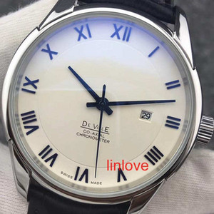 Wholesale Rome Number Luxury Automatic Watch Steel Leather Strap Glass Back Business Men s Wristwatches Dress Casual Women s Fashion Designer Watches