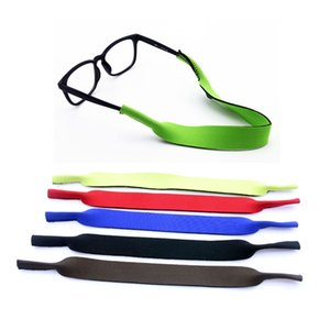 Wholesale Neoprene Glasses cord Strap Head Band Floater sunglasses chains cords Eyeglass lanyards Stretchy holder 0107