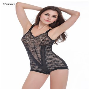 Wholesale New Arrival Lace Bodysuit Sexy Lingerie Ultrathin Postpartum Abdomen Waist Corset Hip Girly Breast Care Hot Shapers JY