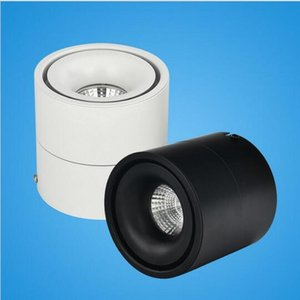 Wholesale COB LED Downlight W W LED Surface Mounted Warm White LED Spot Light for Clothes Store Shopping Mall Livingroom