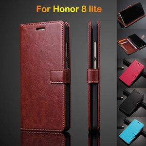 Wholesale Wallet Case For Huawei Honor lite Flip Case Cover For Huawei P8 lite Leather Case Ultra Thin Card Holder Holster
