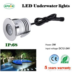 Wholesale 100pcs box manufacturer provides w mini led underwater lights led swimming pool light CE ROHS certification Waterproof IP68