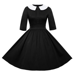 ingrosso abiti da ballo-Spedizione gratuita Womens Vintage s s Flared Swing Pattinatori Ballgown Abiti Wingle Cocktail Party dress FYV072