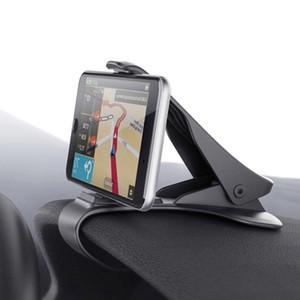 Universal Auto Dashboard GPS Navigation Holder Adjustable Cell Phone Car Magnet Holder Clip Stand Bracket for iphone Samsung Smartphone