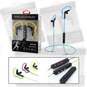 Wholesale New Arrival STN Bluetooth Wireless Earphones with Microphone Stereo Sports Running Earphone For Iphone Samsung Xiaomi Android