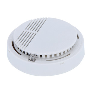 Smoke Detector Alarms System Sensor Fire Alarm Detached Wireless Detectors Home Security High Sensitivity Stable LED W 85DB 9V Battery 50