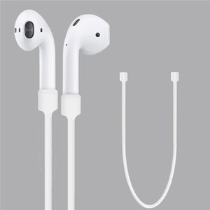 Silicone Anti-lost Strap For Apple Airpods Bluetooth Earphone Loop String Rope Cord Accessories Wireless Headset