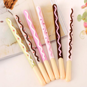 Biscuit Shape Ballpoint Pen Kawaii Office Supplies Stationery Roller Ball Pen Stationery Stationery School Supplies G651