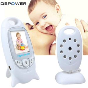 Wholesale DBPOWER Wireless Baby Monitor inch Color LCD Video Child Baby Monitor With Camera NightVision Music Baby Cry Alarm Portable