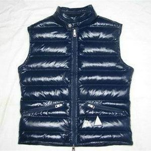 Winter Down Vest Men's Warm Vests High Quality Brand Clothing For Men Padded Sleeveless Jacket Luxury Waist Coat BLUE Black Brown Red on Sale