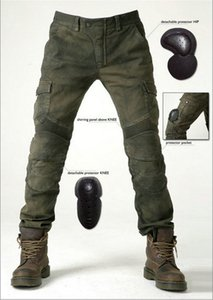 Free shipping uglybros motorcycle pants motorpool jeans casual pants with 4 pieces of protetion gears racing pants