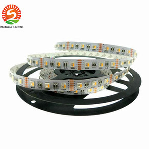 Wholesale 24v V RGBW LED Strip Flexible LED Light RGW RGBWW color in LED Chip LED m m