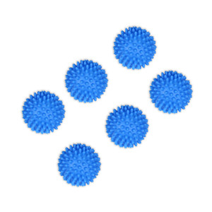 Wholesale Blue Wash Dryer balls Makes clothes washing cleaner Softens the fabrics Washing Dryer Laundry Balls Fabric