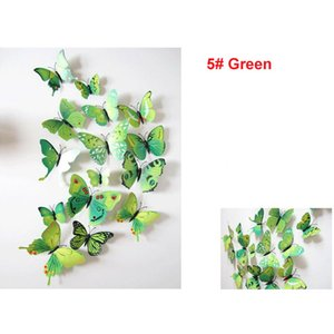 Wholesale 3D Wall Sticker Stickers Butterflies Art Animal Cartoon Rolly Wall Stickers Paper Room Decoration
