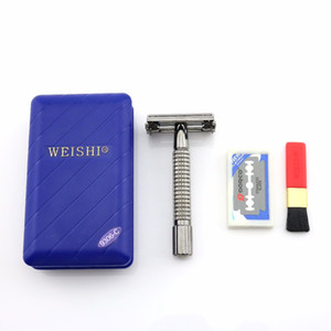 Wholesale safety gun for sale - Group buy WEISHI Butterfly Safety Razor Double Edge Shaving Razor C Gun color Excellent quality NEW