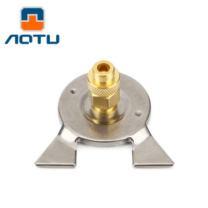 AOTU Outdoor Camping Stove Connector Conversion Head Long Tank to Flat Tank Gas Bottle Adaptor 143