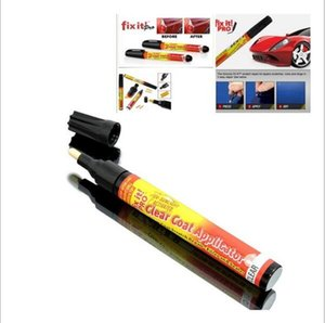 Wholesale Cartoon New Fix It PRO Car Coat Scratch Cover Painting Pen Car Scratch Repair for Simoniz Clear Pens Packing Car Styling