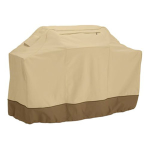 Wholesale- 190cm Waterproof BBQ Barbecue Cover Protective Grill Cover with Storage Bag (Khaki)
