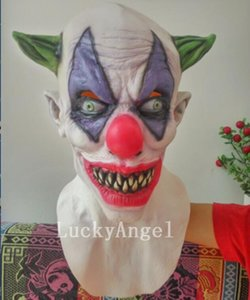Wholesale New Arrival Hallowwen Cosplay Joker Clown Costume Mask Evil Ghost Zombie Mask Scary Full Head Vamprie Mask With Low Price