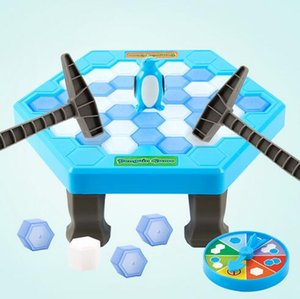 Wholesale ice breaking games for sale - Group buy Funny Penguin Trap Interactive Indoor Board Game Ice Breaking Save The Penguin Parent child Table Entertainment Toys Kids Gifts