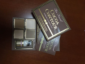 Free Shipping ePacket! HOT new makeup Cocoa Contour Chiseled to Perfection Face Contouring& Highlighting Kit Bronzers & Highlighters