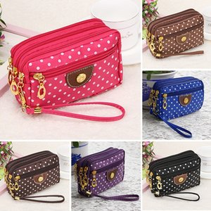 Wholesale New Fashion Girl Women s Wallet Credit Card Key Phone Holder Zipper Purse