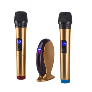 YVBOX Small New Professional Wireless Microphone System Karaoke Machine Set for Smart Phone iPad PC TV on Sale