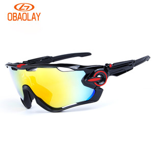 Wholesale Brand Sport Sunglasses Polarized Cycling Sunglasses For Men Women Gafas Mountain Bike Bicycle Run Eyewear With 3 Lens And Box High Quality