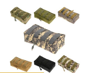 Airsoft Tactical Molle Vest Waist Belt Bag Men Hunting EDC Pack Pocket 600D Nylon Waist Pouch Equipment
