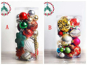 Wholesale Christmas Tree Xmas Balls Decorations With Matching Colorful Bead Decorations Xmas Tree With Coloured Ball Decoration For Christmas