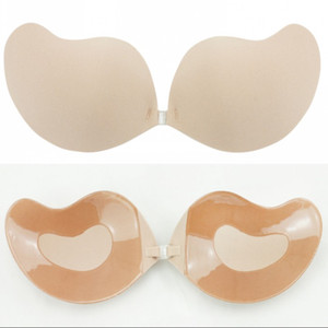 Hot Sale Sexy Bras Push Up Bra Bust Front Closure Strapless Women Invisible Bras for Women Bridal Reusable Adhesive Backless Nubra CPA780