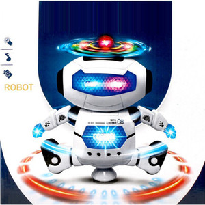 Intelligent Space Dancing Humanoid Robot Toy With Light Children Pet Brinquedos Electronics Jouets Electronique for Boy Kid on Sale