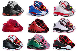 Wholesale Jumpman Cheap New XIII Men Basketball Shoes red Bred He Got Game Black Sneaker Sport Shoes Online Sale