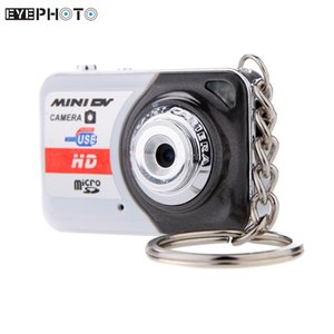 Wholesale X6 Portable Ultra HD High Denifition Mini Digital Camera DV Support GB TF Card with Mic Mini Video Camcorders PC camera