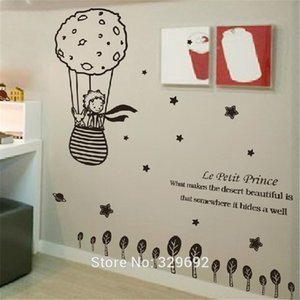 Wholesale Cartoon Cute Creative Big Size X Cm for Kids Rooms Little The Fox Removable Wall Stickers Home Decoration Tx