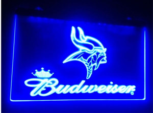 B-211 Minnesota Budweiser beer bar pub club 3d signs LED Neon Light Sign man cavehome decor shop crafts