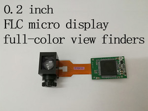 high resolution head mounted displays view finders 0.2 inch full-color micro display Ferroelectric Liquid Crystal (FLC) on reflective CMOS