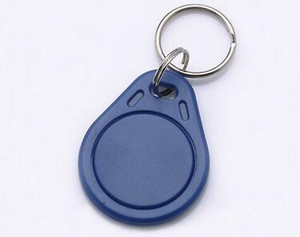 Cheapest Factory price make TK4100 EM4100 125khz 100pcs lot ISO11785 ABS RFID key tags Customized Clear key Label Tags