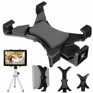 "Universal Tablet Stand Tripod Mount Holder Bracket 1 4""Thread Adapter For Samsung Tab E S S2 A SONY ASUS LG"