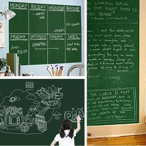 Wholesale 45 CM Wall Sticker White Board Large Size School Teaching Office Message Board Stickers Wall Stickers Home Decor ZA1590