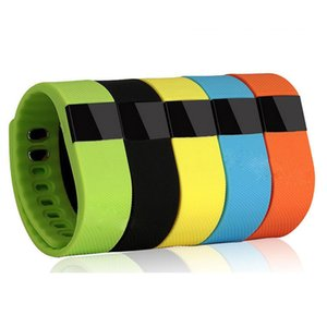 Wholesale TW64 Smart Wristband Fitness Activity Tracker Bluetooth Sport Smart Bracelet Fitbit Flex Smartwrist Watch For ios android xiaomi mi band