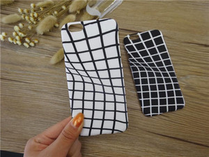 Wholesale Frosted Iphone Plus Cell Phone Cases Abstract Pattern Design Hard PC Cases For Iphone Plus Couple Cool Mobile Cases W161204