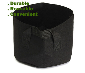 Wholesale Round Non-woven Fabric Plant pots Pouch Root Container Grow Bag Aeration Flower Pots Container Garden Planters