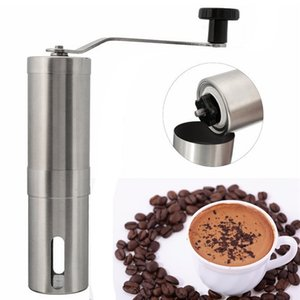 Wholesale Coffee Bean Grinders Stainless Steel Manual Handmade Coffee Grinder Mill Kitchen Grinding Tools For Home Restaurent Cafe Bars