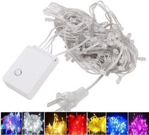 Wholesale string lights for sale - Group buy fast ship M colors Waterproof LED Holiday String light Christmas Wedding Party Festival Twinkle Decoration lamp Bulb V V US EU