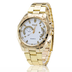 Wholesale Geneva Ms hot style sell like hot cakes quartz Swiss alloy watch men and women Fashion diamond watches speed sell through hot style