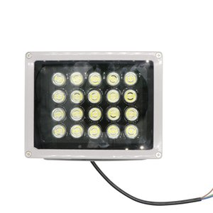 Wholesale New Silver w LED Flood Light Waterproof Outdoor Landscape Garden Lamp Warm Cool White Street Lighting Spotlight LED Floodlight