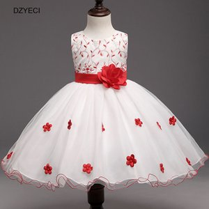 Wholesale Teen Girl Wedding Dresses New Carnaval Costume For Kid Bow Princess Dress Children Deguisement Elza Bridesmaid Ceremony Pageant Frock